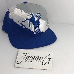 Colts NFL Snapback Hat Mitchell & Ness VTG Style
